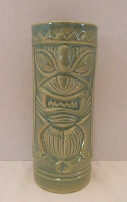"Urban Outfitters Tiki Mug Green Collectible Luau Party 6 1/2"" NEW"