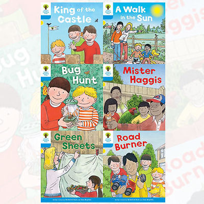 Oxford Reading Tree, Level 3 Pack A Decode and Develop, 6 Books Collection Set