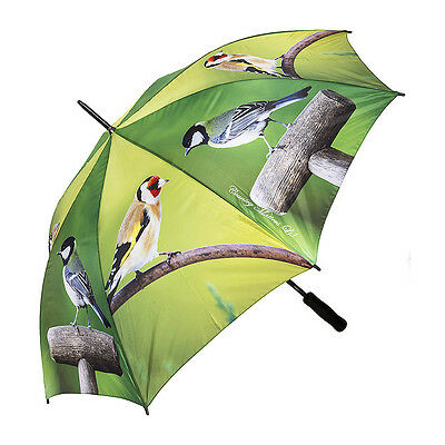 Beautiful stick Umbrella with GARDEN BIRDS design from Country Matters.