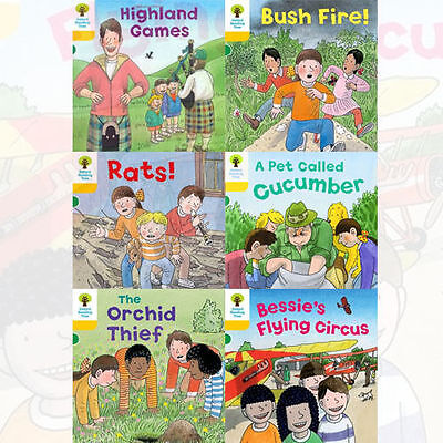 Oxford Reading Tree, Level 5 Decode and Develop, 6 Books Collection Set New PB