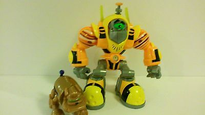"""Planet Heroes Jupiter Gustus 6.5"""" Action Figure Toy With Dog"""