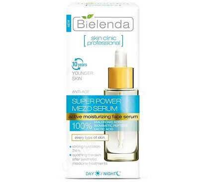 Bielenda Skin Clinic Super Power Mezo Serum Actively Hydrating Anti-Age Day 30ml