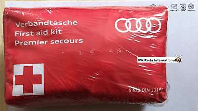 Genuine Audi Red First Aid Kit A3 A4 A8 S3 8v S4 S5 R8 RS3 RS4 RS6 RS7 TTS TT RS
