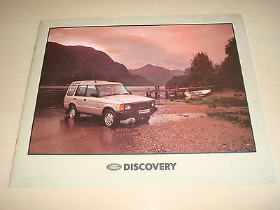 Land Rover Discovery Uk Sales Brochure - Pn. Lrd 557