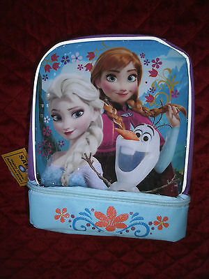 Frozen Anna , Elsa And Olaf Soft Lunchbox