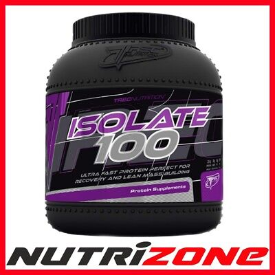 Trec Nutrition Isolate 100 Best Whey Protein Isolate BCAA Glutamine Lean Mass