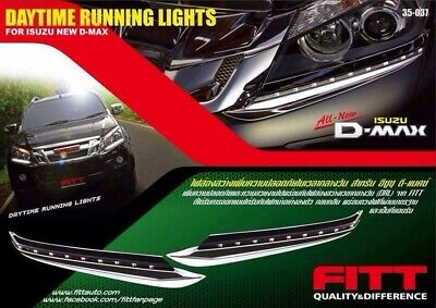 @MO LED Daytime Light Head Light Lamp Cover ISUZU ALL NEW D-MAX DMAX 2012 - 2015
