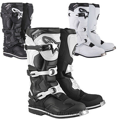 Alpinestars Tech1 Tech 1 Stiefel weiss schwarz mx motocross Enduro cross boot