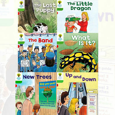 Oxford Reading Tree, Level 2: More Patterned Stories A, 6 Books Collection Set