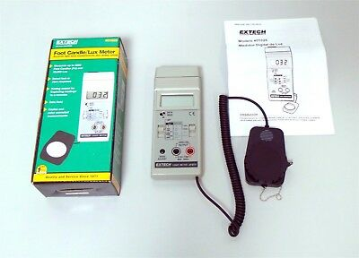 Extech Light Meter 401025 New in Box Foot Candle Lux Meter 0 to 5,000