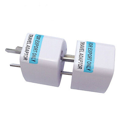 UK US EU Universal to AU Australia Plug AC Power Adapter Travel Converter Sale