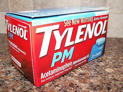 Extra Strength Tylenol PM - Pain Reliever - Nighttime Sleep Aid 225 Caplets
