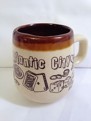 Atlantic City Ceramic Mug Vintage
