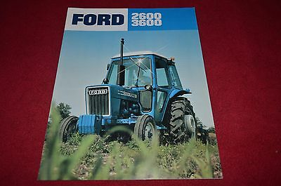 Ford 2600 3600 Tractor Dealer's Brochure YABE1