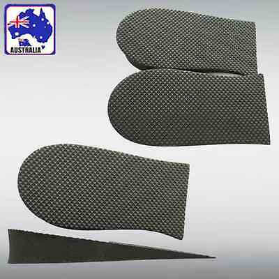 2pcs Height Increase Cushion Shoe Insert Taller Insole Heel Lift Pad SUTOC2235x2