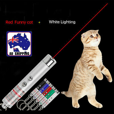 Pet Dog Cat Laser Lazer Light Fun Training Pointer Torch LED Toys PTCLI 64