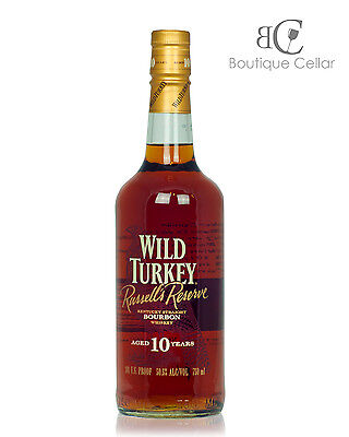 Wild Turkey 10 Yo Russells Reserve 101 Proof Kentucky Bourbon Whiskey 750ml