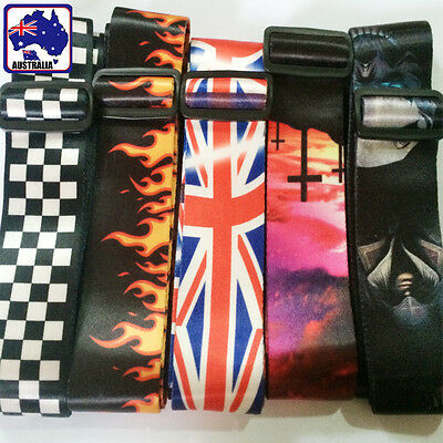 Guitar Strap Adjustable Belt Polyester Electric Acoustic Bass Trendy SMUGS 77
