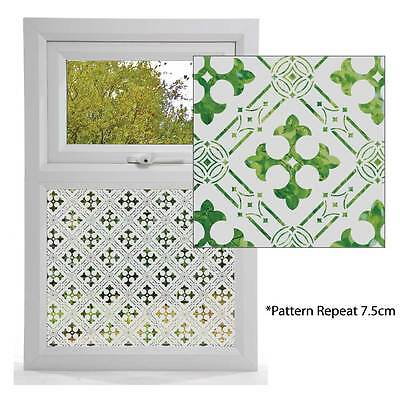 Etched Glass Effect Window Film, Victorian Styles, Window Pattern GOTHIC DESIGN