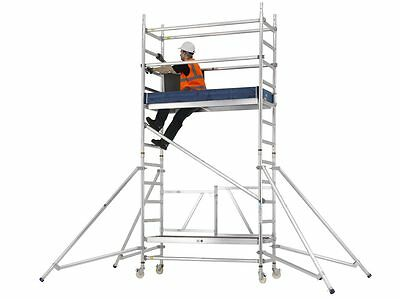 Mobile Scaffold Tower | Zarges Reachmaster Quick Folding Scaffold System