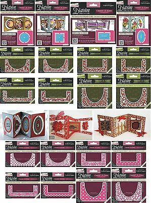 Die'sire Create A Card Accordion Dies Everyday Xmas Overlays Crafters Companion