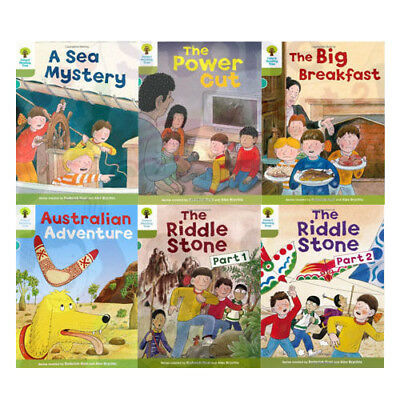 Oxford Reading Tree, Level 7: More Stories B, 6 Books Collection Set (The Power)