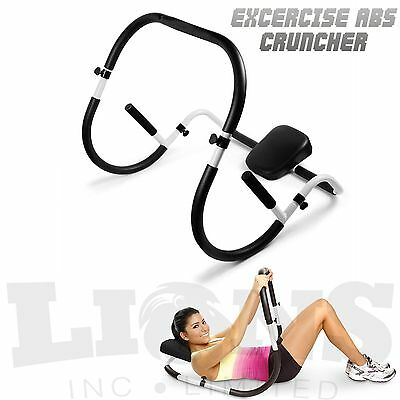 Abdominal Abs Crunch Machine Roller Pro Abs Cruncher Toner Gym Tummy Workout
