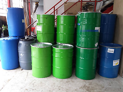 45 Gallon Steel Drum,210ltr Animal Feed,log-store,or shipping crate can lock up