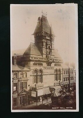 Nottinghamshire Notts NOTTINGHAM Albert Hall RP PPC 1906