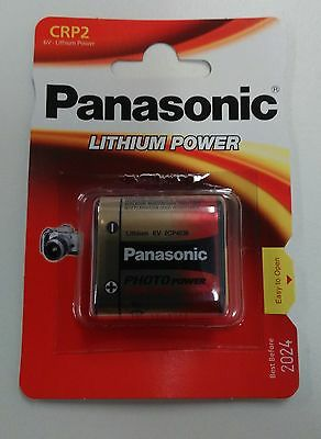 Pile Batterie Photo Lithium Crp2 Panasonic Cr P2 Cr-P2 Dl223 Crp2P Cr223 Dl223A