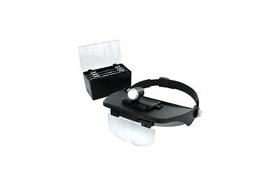 LightCraft LC1764 Loupe Frontale - Headband Magnifier with 4 Lenses