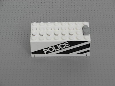 LEGO F6 52035c01pb06 Motorcycle Complete Assembly with POLICE in Black