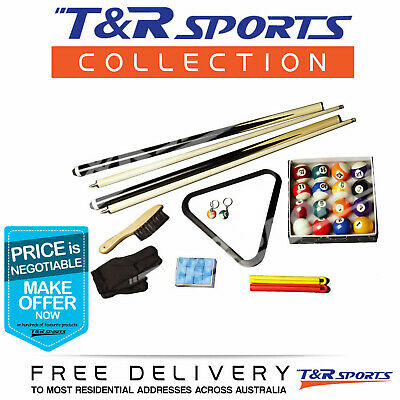 Compact Snooker Pool Accessories Kit Sale Free Syd Mel Bne Delivery