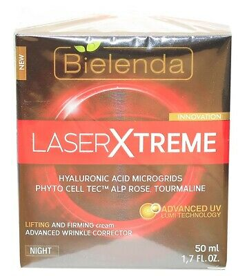 Bielenda Laser Xtreme Lifting and Firming Wrinkle Corrector Night Cream 50ml