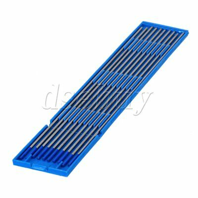 10pcs 2% Lanthanated WL20 Blue TIG Welding Tungsten Electrode 1.6 x 175mm