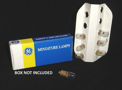 General Electric * Miniature Lamps * Box Of 7 * Part Number 44 G9 * Loose No Box