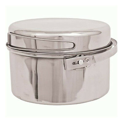 Olicamp Stainless Steel Kettle 3 Quart/QT - Easy-To-Clean, Locking Bail Handle