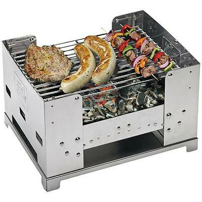 Esbit Foldable BBQ Box - All-In-One-Solution For A Tasty Grilling Adventure