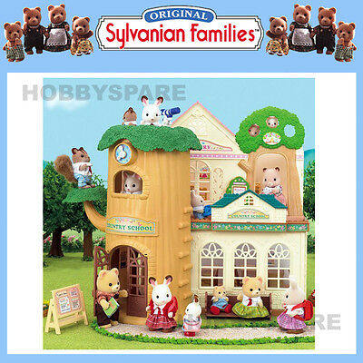 New Sylvanian Families Country Tree School Doll House 5105