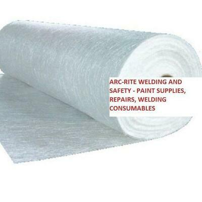 300g GSM Fibre Glass Chopped Strand Mat Matting For GRP Resin - 5m x 1m