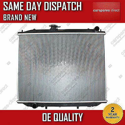 MANUAL RADIATOR FIT FOR A NISSAN TERRANO MK2 2.4 4WD,2.4 i 12V 4WD 2.7 TD 93>07