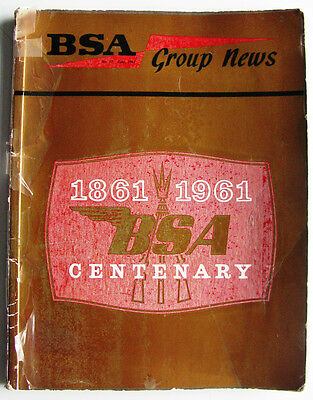 BSA GROUP NEWS CENTENARY ISSUE - Jun 1961 - No. 17