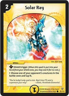 Duel Master TGC Solar Ray DM10 Shockwaves of the Shattered Rainbow