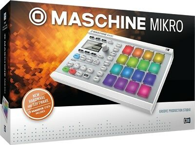 Native Instruments Maschine Mikro Mk2 Weiss - Neu