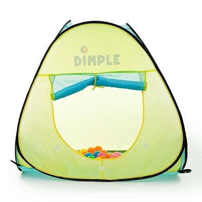 """Dimple Child Pop Up Triangle Tent with 50 8"""" Balls DC11879"""