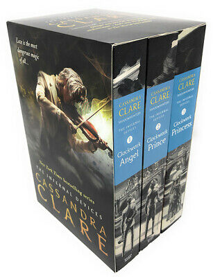 Cassandra Clare The Infernal Devices 3 Books Collection Set Clockwork Angel NEW