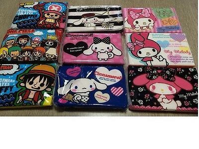 3 Pack ! Japan Kawaii Facial Pocket Tissue One Piece Sanrio Cinnamon My Melody !