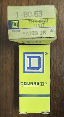 SQUARE D B0.63 Thermal Overload Relay Heater Element B0 63