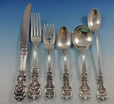 Francis I by Reed & Barton Sterling Silver Flatware Set For 8 Old Mark 51 Pieces