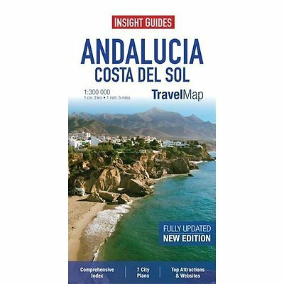 Insight Travel Map: Andalucia & Costa Del Sol 2e Guides Sheet 9781780054681